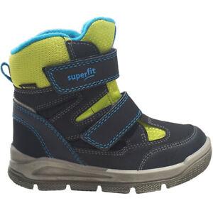 Superfit Gore-Tex Stiefel Mars Blau Grün Winterstiefel Winterschuhe Schuhe NEU