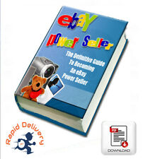 How to become an eBay Power Seller, Pdf eBook w/Resell Rights + Free Shipping