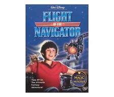 Disney Flight of the Navigator Futuristic Spacecraft Kids Sci-Fi Adventure DVD