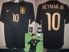 Brazil NEYMAR JR Adult Large BNWT Nike Football Soccer Shirt Jersey Brasil 3 New