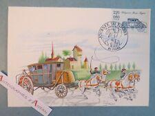 ♦ FLERS Orne 61 Journée du timbre - Diligence Paris Lyon 1770 véhicule postal