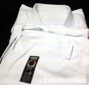 Luxe Kimono Karate Karategi Hirota 163 KATA Taille 4 (165cm) Fait main au Japon
