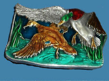 Duck Buckle Mallard Marsh Migrate Fowl Hunting Audubon Bergamot USA Made