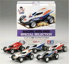 TAMIYA 1/32 Racer Mini 4WD Special Selection Memorial Box Vol.2 Japan F/S New