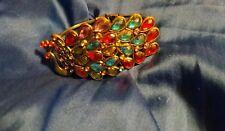 Peacock Bangle Bracelet
