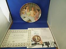 Vintage Sound of Music My Favorite Things Collectible Plate T. Crnkovich 844A