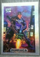 1994 marvel masterpieces silver holofoil Punisher #6 of 10