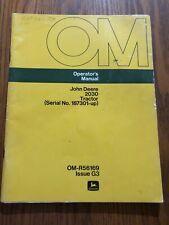 John Deere 2030 Tractor Omr56169 Operator'S Manual Book