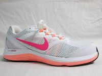Nike Size 10 M Dual Fusion Run White Running Sneakers New Womens Shoes NWOB
