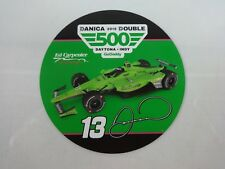 "Danica Patrick GoDabby Ed Carpenter Racing Collector 3"" Round Decal Indy 500"