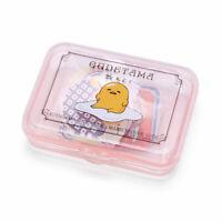 Gudetama egg Plastic cased stickers 40pcs Sanrio Kawaii Cute 2019 NEW F/S