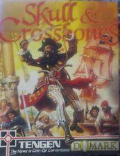 Skull & Crossbones (Domark, 1991) C64  (Tape) (Game, Box, Manual) 100% ok