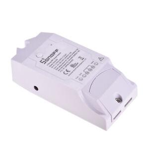 Sonoff Dual R2 WiFi Wireless Switch 2-Gang-Smart-Home-Wifi-Fernbedienung B1H1