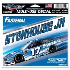 Ricky Stenhouse Jr 2018 Wincraft #17 Fastenal 4.5x5.5 Multi Use Decal FREE SHIP