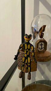 Werbefigur Salamander aus den 80er Jahren - LURCHI  - ca  13 cm hoch