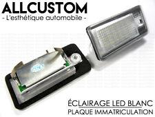 LED ECLAIRAGE PLAQUE IMMATRICULATION pour AUDI A3 8P S3 A4 S4 B6 B7 A6 A8 S8 Q7