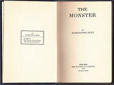 Harrington Hext - The Monster - 1st Edition 1925 - Scarce Eden Philpotts Mystery