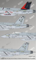 Authentic Decals 1/48 F/A-18E Super Hornet VFA-81 Sunliners # 4837
