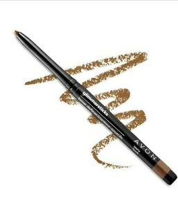 Avon True Color Glimmersticks Brow Definer ~ TAWNY Eyebrow Liner Light Brown New