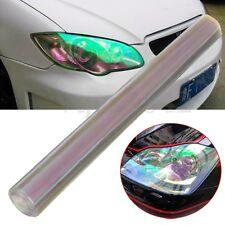 12x48'' Transparent Car Light Film Headlight Fog Tint Sheet Sticker Wrap Change