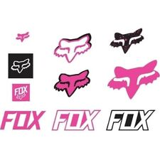 Fox Racing Pair of Sticker Decal Track Pack Pink 14935