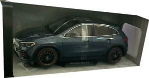 Mercedes Benz GLA, AMG Line in denim blue 1:18 scale model from Solido