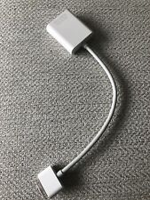 Genuine Apple A1368 30 pin dock to VGA Adapter Cable for Apple iPad or iPhone