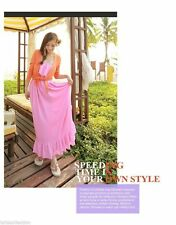 Chiffon Summer/Beach Solid Maxi Dresses for Women