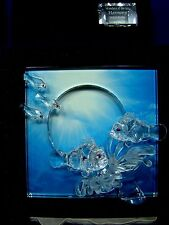 "Swarovski ""Harmony"" [Clear] 2005 Annual 'Wonders of the Sea' Crystal Ornament"