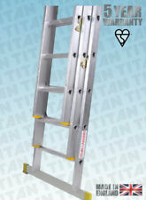 More details for titan aluminium classic trade ladders - with fitted stabiliser bar - en131