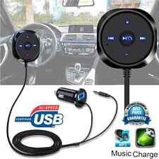Bluetooth Wireless Car FM Transmitter USB Kit 3.5mm Adapter Handsfree MP3 Player