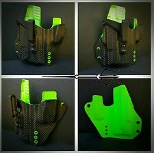 Glock 19 23 Light bearing TLR1 Any Colors Aegean Kydex IWB holster Veteran Made