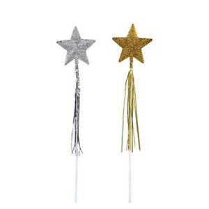 """Dozen 19"""" Glitter Wand Favor Party Gift Bag Fillers Prize Prizes Assortment"""