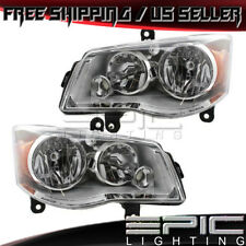 08-16 CHRYSLER TOWN & COUNTRY DODGE GRAND CARAVAN Headlight - Left Right Pair