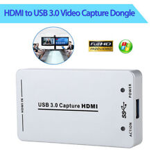 HDMI HDV-UH60 To USB3.0 Video Capture Dongle HD 60FPS Capture Box For Win Mac