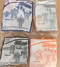 2019 Transformers McDonald's Happy Meal Toys Complete Set of 4