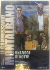 IL COMMISSARIO MONTALBANO - Una Voce Di Notte - DVD Nuovo Celophanato