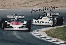 Arturo Merzario Firmato a Mano 12x8 PHOTO OVORO f1 MARZO 2.