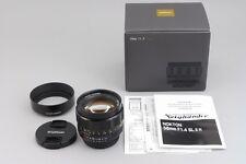 【A- Mint in Box】 Voigtlander Nokton 58mm f/1.4 SL II for Nikon Ai-S w/Hood #2598