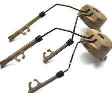 DLP Tactical Helmet ARC Rail Adaptor Set for Peltor Comtac Headset