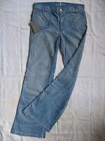 7 SEVEN for all MANkiND Damen Blue Jeans Stretch W28/L34 regular fit flare leg