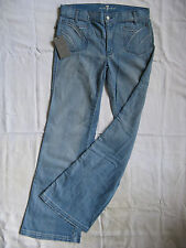 7 SEVEN FOR ALL MANKIND Blue Jeans Stretch w28/l34 Regular Fit Flare Leg