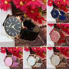 Fashion Women's Watch Geneva Leather Casual Watch Bracelet Quartz Wrist Watches