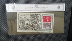 2010 G.B Presentation Pack 441 :- George V Accession - London Festival Of Stamps
