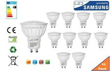 GU10 LED Bulb Day White, 6W, 480 lumens, 6000K, 120° Beam Angle - Pack of 12