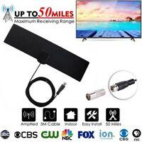 50 Meilen TV-Antenne Signalverstärker Digitaler Fernsehempfänger DVB-T Antenne
