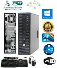 HP Eliet PC 800 g2 SFF i7 6700 6th Gen.  WIN10 Pro 32GB 1TB HD Desktop Computer