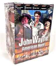 John Wayne American Hero Collector Series 5 Pack Video Cassettes VHS Tapes 2001