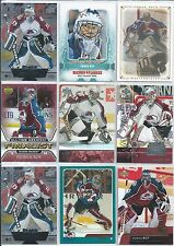 Patrick Roy  All Different 25-Lot of Inserts & Base Cards  All Colo  Lot #1