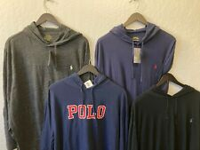 BIG & Tall Polo Ralph Lauren Hooded Pullover t-shirt long sleeve NWT Reebok
